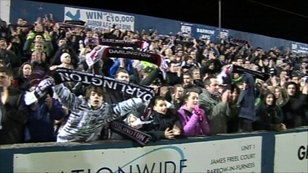 Darlington fans