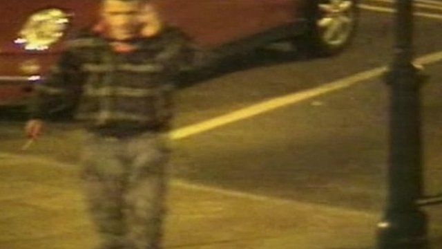 CCTV of Ensar Gol on Thame High Street