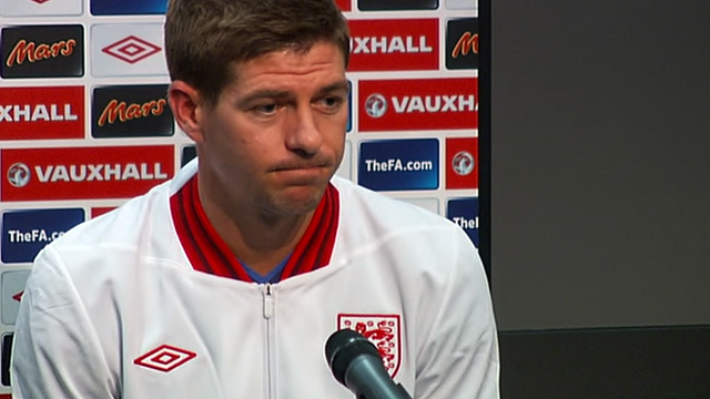 Liverpool and England captain Steven Gerrard