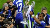 Ivorian Didier Drogba lifts the European Cup