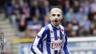 Heerenveen striker Bas Dost