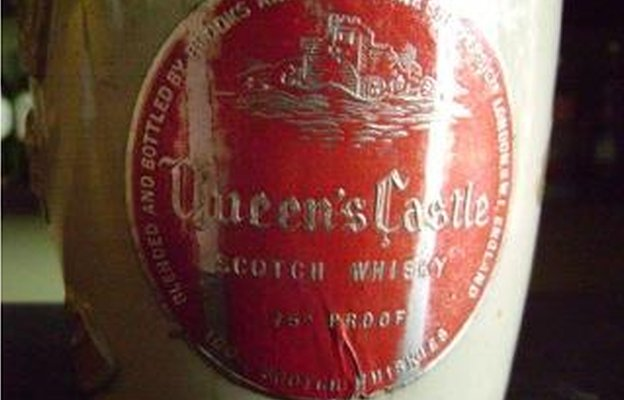 A bottle of whisky to mark the Queen's Coronation in 1953.