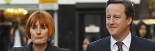 Mary Portas with David Cameron