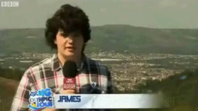 School Reporter James