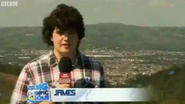 School Reporter James