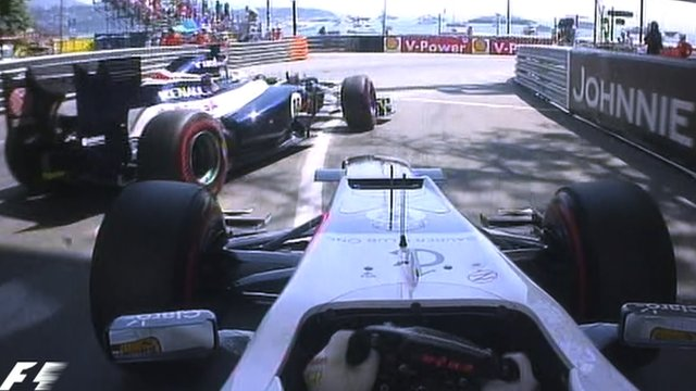 Pastor Maldonado and Sergio Perez