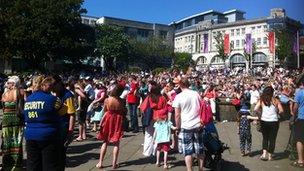 Swansea scene