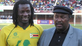 Benjani and Jomo Sono