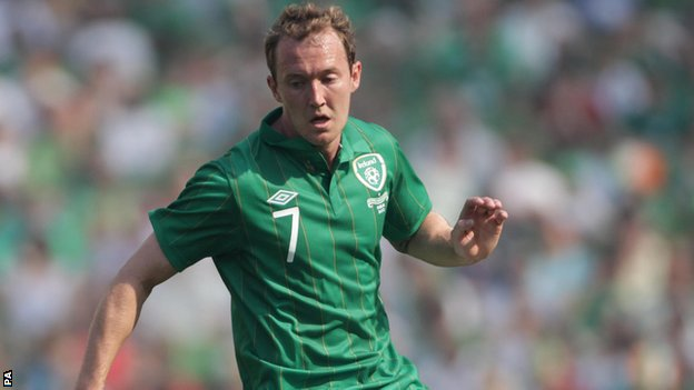 Aiden McGeady starred for the Republic after his half-time introduction