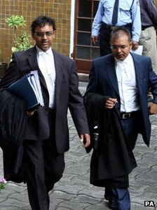 Defence counsel for Mr Treebhoowon, Ravi Rutnah and Sanjeev Teeluckdharry