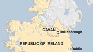 Cavan map