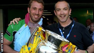 Chris Robshaw and Conor O&#039;Shea