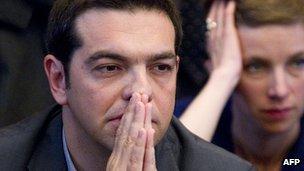 Alexis Tsipras (file image)