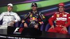 Monaco Grand Prix top three drivers