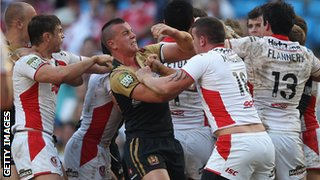 St Helens v Wigan