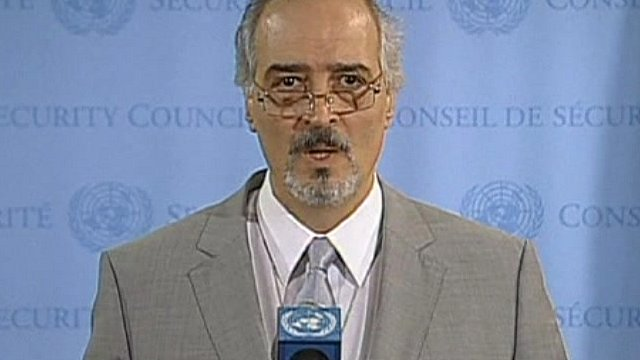 Syrian ambassador to the UN, Bashar Jaafari