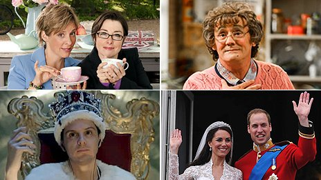 Winners: Mrs Brown's Boys, The Great British Bake Off, Andrew Scott and royal wedding coverage