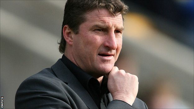 Warrington Wolves coach Tony Smith