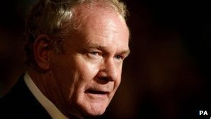 Martin McGuinness talked about discussions with unionists during his party's ard fheis