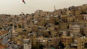 Jordan's capital Amman