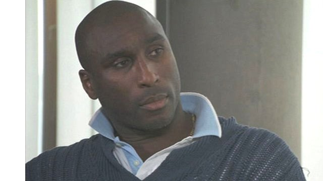 Sol Campbell former England captain