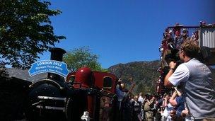 Blaenau Ffestiniog train