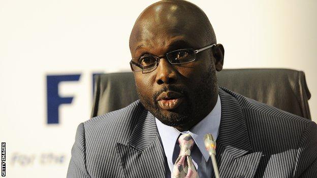 Liberian George Weah