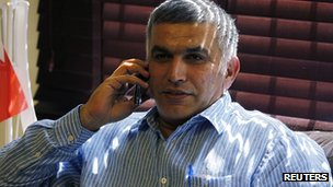 Nabeel Rajab 28 May 2012
