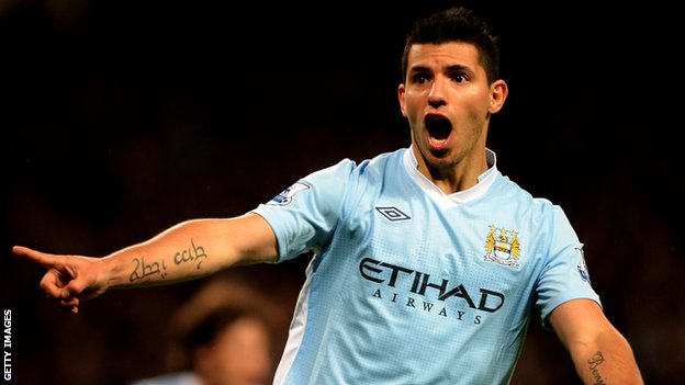 Sergio Aguero Plans To Honour His Four Year Contract At Manchester
