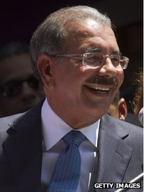 President-elect Danilo Medina