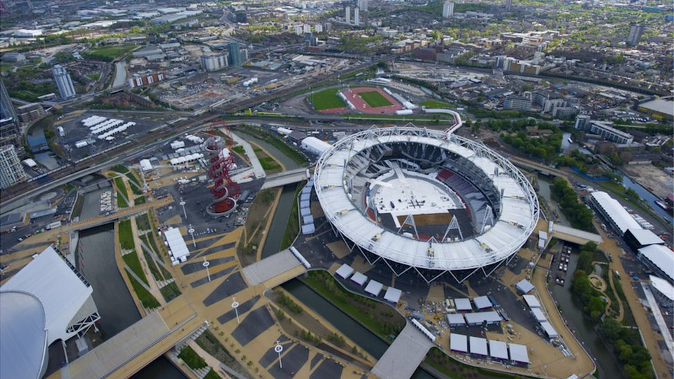BBC News - London 2012: Olympic Park in pictures
