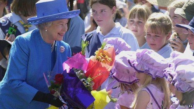 Queen Elizabeth II in Australia
