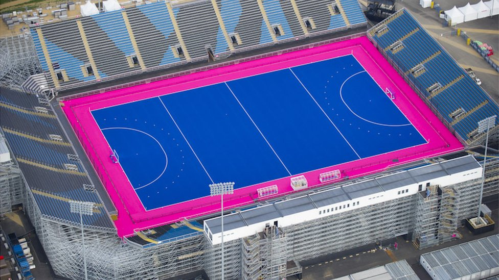 Hockey Venue In London 2012 Olympic Park