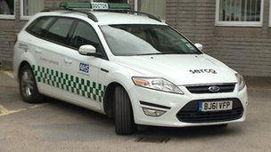 Serco vehicle