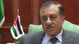 Kamel Al Said, Jordan's minister for legal affairs