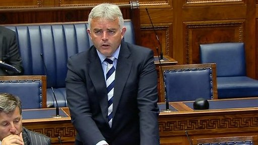 Junior Minister Jonathan Bell made a statement on European priorities for 2012/13.