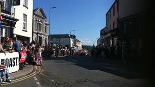 Bangor crowds