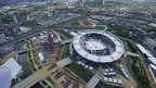 London 2012 Olympic Park taken from the air
