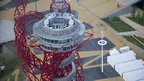 ArcelorMittal Orbit tower designed by Turner Prize-winning artist Anish Kapoor