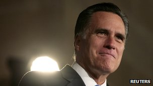 Mitt Romney in Washington DC on 23 May 2012