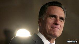 Mitt Romney in Washington DC on 23 May 2012