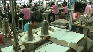 Shanghai Liberty Apparel workers