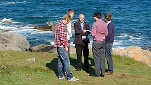 Students from Exeter University studying renewable energy in Guernsey