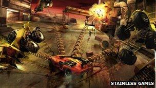 Carmageddon Reincarnation concept art