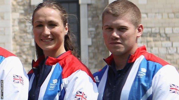 Georgina Geikie (left) and Rory Warlow
