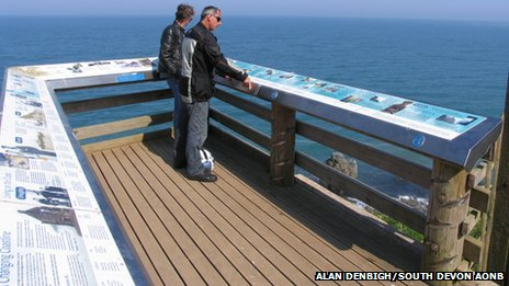 Hallsands viewing platform