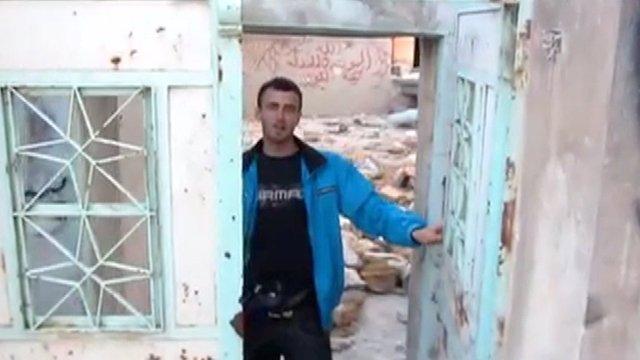 North Londoner Ahmad El Khalaf in Syria