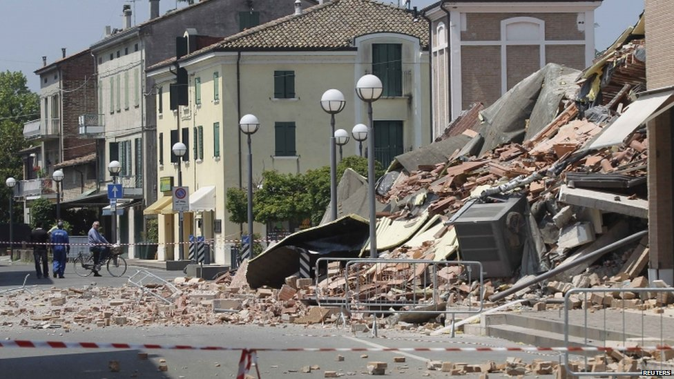 Genoa Italy Earthquake