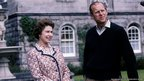 HM The Queen and HRH The Duke of Edinburgh on Balmoral Estate