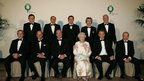 The Queen with G8 leaders, 2005.